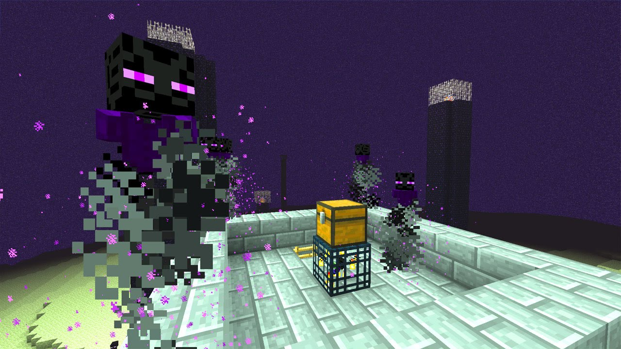 how to get the end portal minecraft with commands