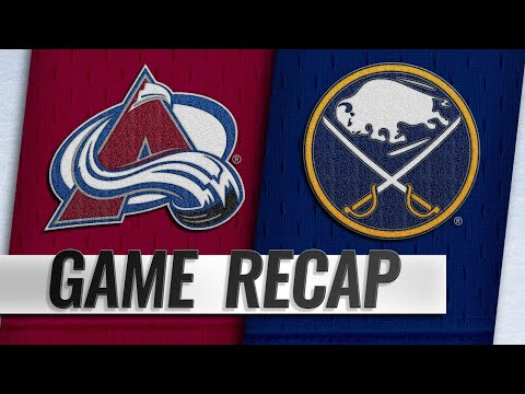 MacKinnon, Rantanen propel Avalanche to 6-1 win