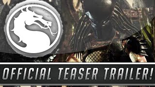 Mortal Kombat X: Predator DLC Official Teaser Trailer & Release Date! (Mortal Kombat 10)