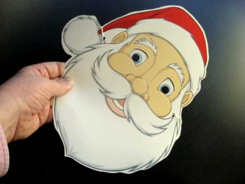 Image result for santa claus mask