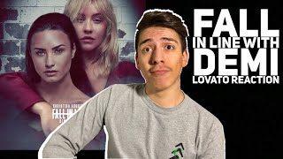 Christina Aguilera-Fall In Line (lyric Video) ft Demi Lovato Reaction |E2 Reacts