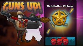GUNS UP! 2X Retaliations Vs. shuaagi