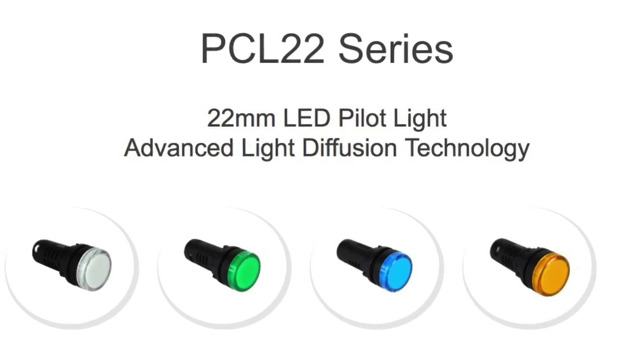 New Product Introduction From Vcc Pcl22 Series Led Pilot Light
