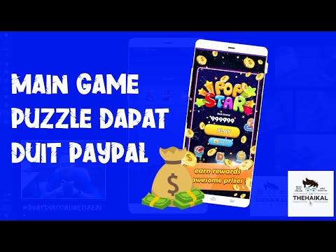 Main Game Dapat Duit Puzzle Pop Star Magic Youtube