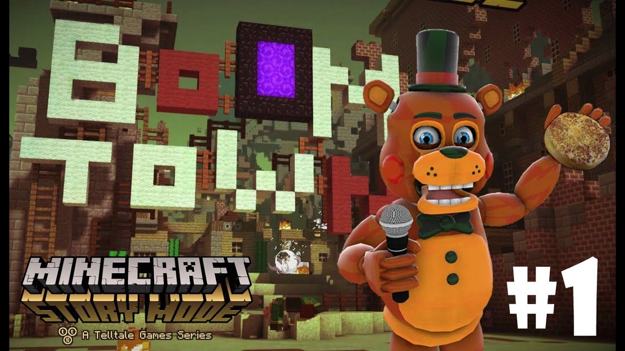 Minecraft Toy Freddy : Welcome to boom town toy freddy plays minecraft story