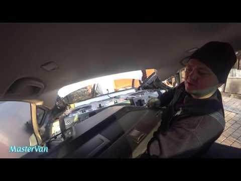 Как снять заднюю полку в салоне автомобиля
