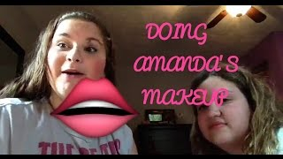 How I'd do Amanda's Makeup Thumbnail