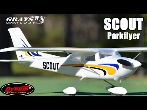 Dynam Scout Cessna 182 Small ParkFlyer Electric Airplane | Review