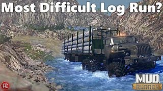 SpinTires MudRunner MOST D FF CULT LOGG NG ROUTE HUGE CL FFS