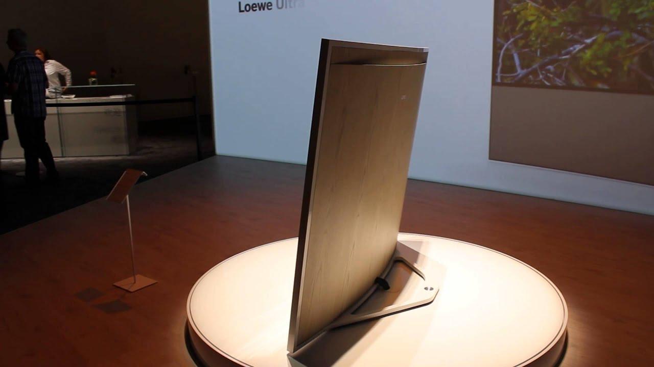 loewe masterpiece curved 4k tv auf der ifa 2014 youtube. Black Bedroom Furniture Sets. Home Design Ideas