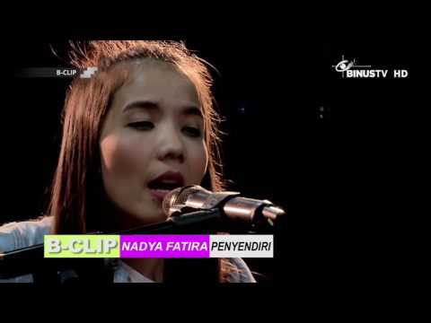B-CLIP #800 NADYA FATIRA - Penyendiri