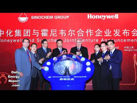 Honeywell  Sinochem Team Up For Energy Efficient Project In China
