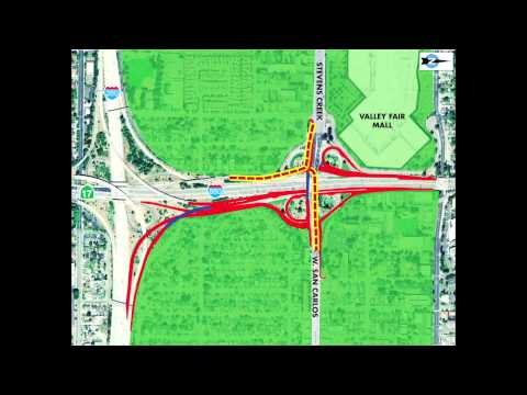 I-280/I-880/Stevens Creek Boulevard Improvements Project (November 2012)