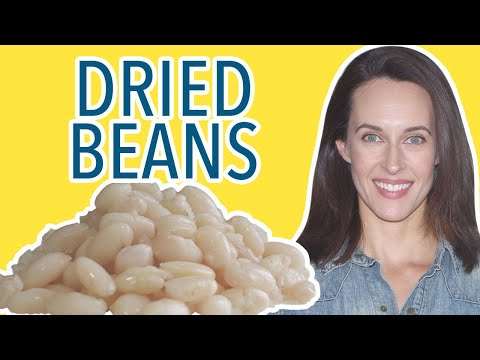 How To Cook Dried Beans Recipe Demo With White Beans