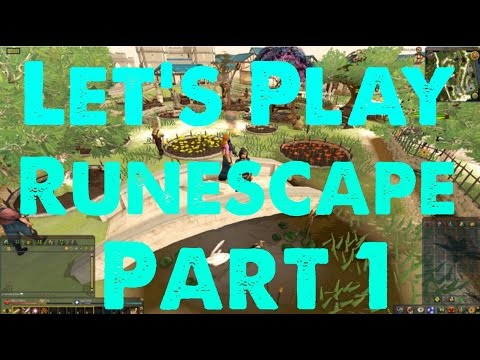 Let's Play Runescape 2016 Gameplay / Walkthrough Part 1 – Character Creation And Tutorial