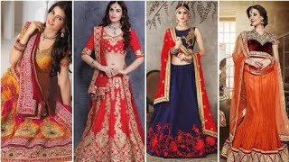Latest design for bridal lehenga //RV all type information RValltypeinformation