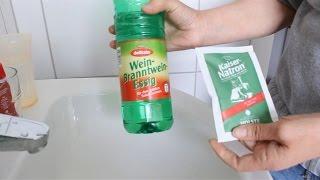 Abfluss reinigen - Umweltfreundlich mit besten Hausmitteln - Clean the drain with Home remedies