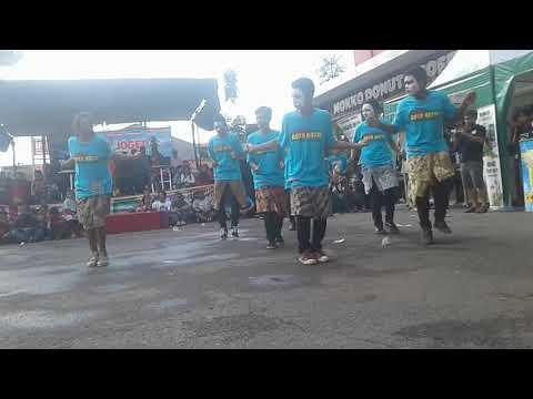 Lomba joget di Ramayana Pekalongan JYLO kota batik vs GGS Pekalongan