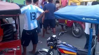 PELEA CALLEJERA EN YURIMAGUAS