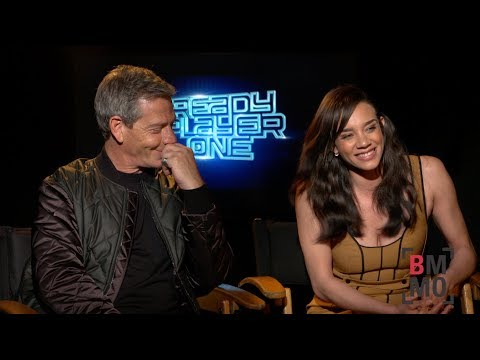 Ben Mendelsohn & Hannah John-Kamen Interview - Ready Player One