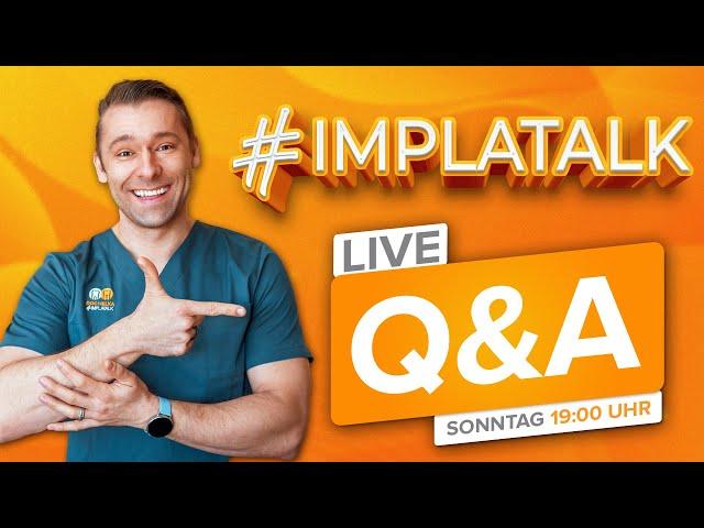 Live Q&A mit Doc Helka zu den Themen Implantologie, Zahnmedizin und Oralchirurgie