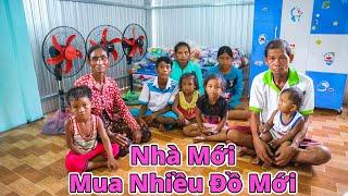 Bàn giao nhà mới cho gia đình Khmer 13 người và sắm sửa nhiều đồ mới cho gia đình | YẾN TRẦN TV