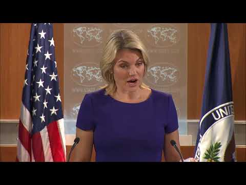 Department Press Briefing - October 19, 2017