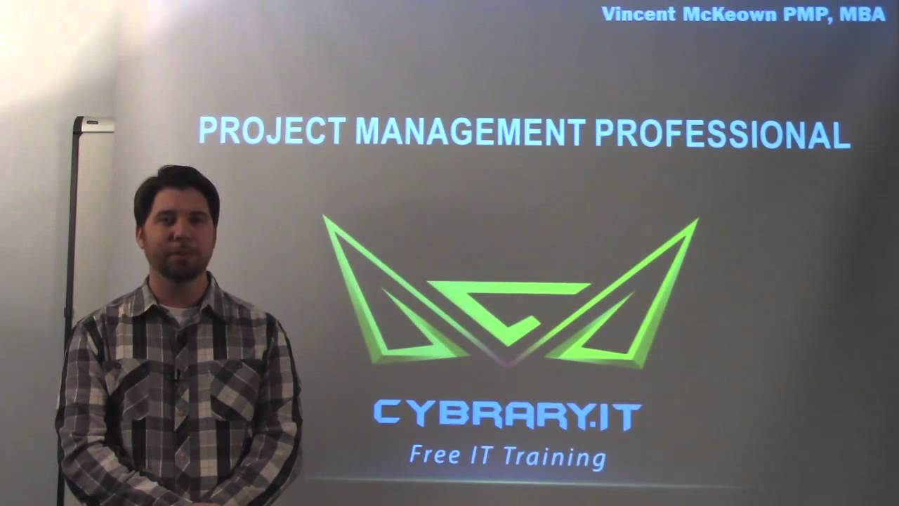 Preview The Free Pmp Online Training Class From Cybrary Youtube