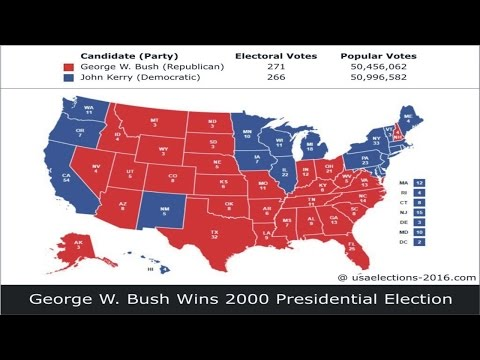 2000 US Presidential Election Result