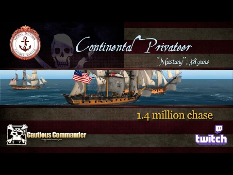 Continental Privateer - 1.4 million chase