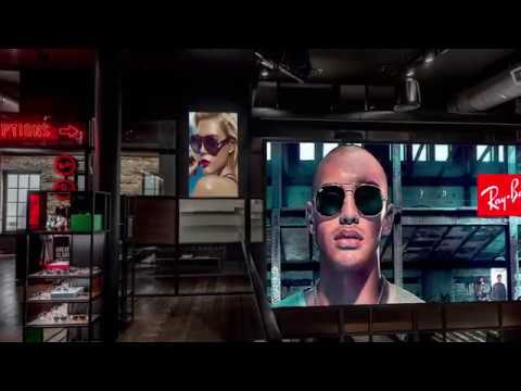 9e855ee9d0 THe Ray-Ban New York City Flagship Store - YouTube