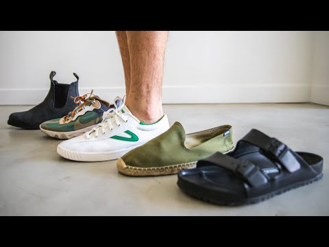 MY SUMMER SHOE ROTATION | Men's Shoes | Parker York Smith