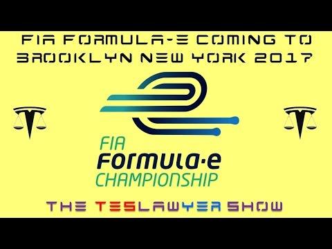 Formula E Announces Brooklyn Race at New York Autoshow 2017