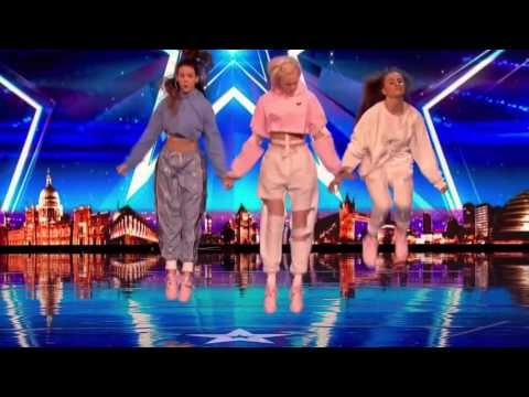 Can Code 3 crack the Judges with their dance routine   Auditions Week 7   Britain's Got Talent 2017