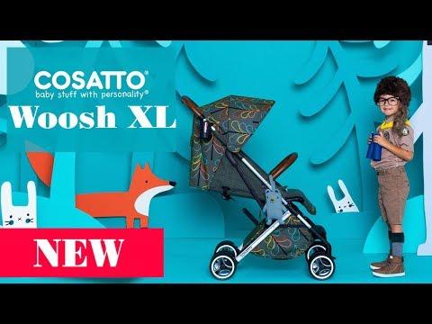 Cosatto Woosh XL - обзор прогулочной коляски