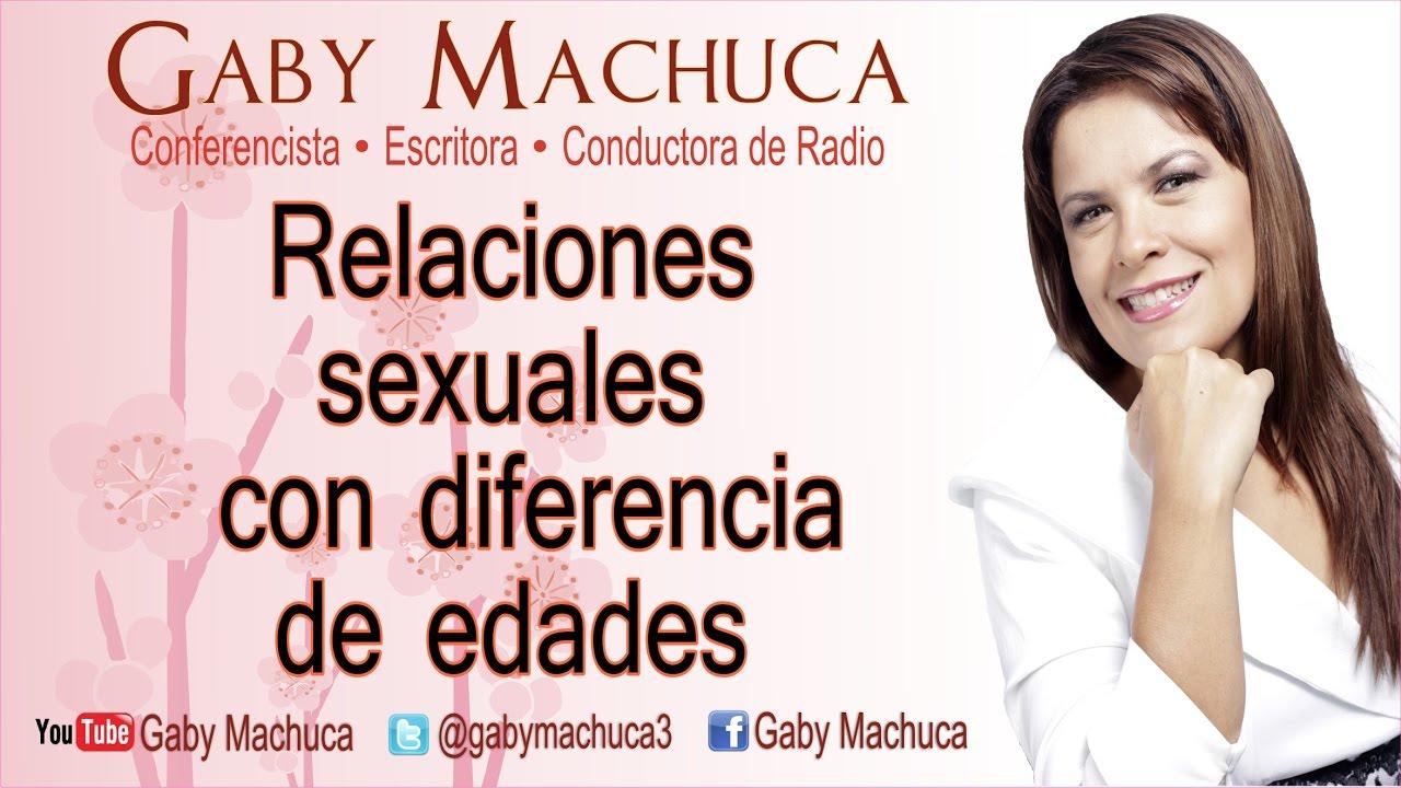 Relaciones sexuales con diferencia de edades con Gaby Machuca #1
