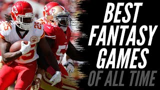 Greatest Fantasy Games of All Time | Fantasy Football 2020