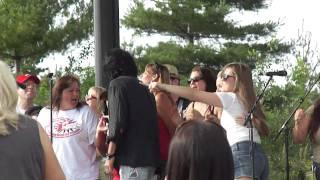 Andy Kim @ Canada Day celebration in Toronto Woodbine Park--Sugar Sugar--Live 2011-07-01