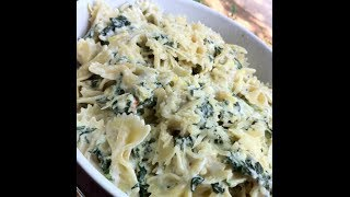 A Pinteresting Vlog For March: Spinach And Artichoke Pasta