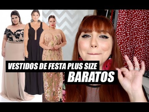 5b194258b504 VESTIDO DE FESTA PLUS SIZE BARATO: LOJAS E DICAS - YouTube