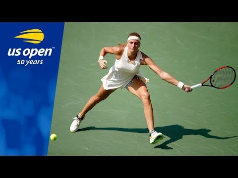 Petra Kvitová Opens Her US Open Campaign Strong vs. Yanina Wickmayer