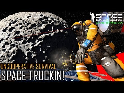 Space Engineers: Space Truckers - Uncooperative Survival (Pl