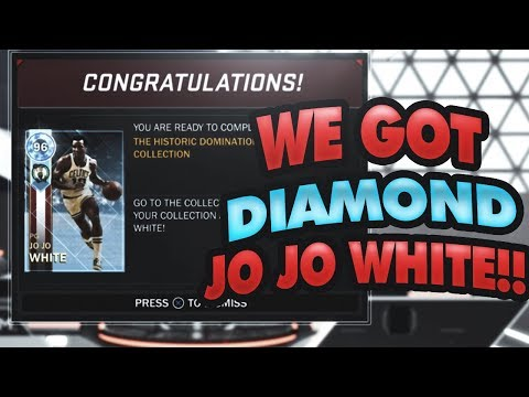 WE GOT OUR HISTORIC DOMINATION REWARDS - DIAMOND JO JO WHITE!!