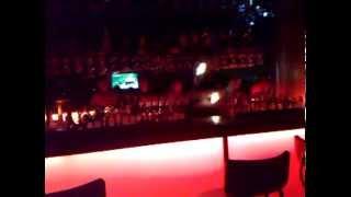 Bar Boy Bottle Fire Jugling