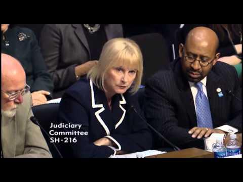 Sandy Adams exchange with Senator Dick Durbin at Senate Judiciary Committee hearing