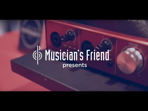 Focusrite Clarett USB Audio Interfaces - Winter NAMM 2018