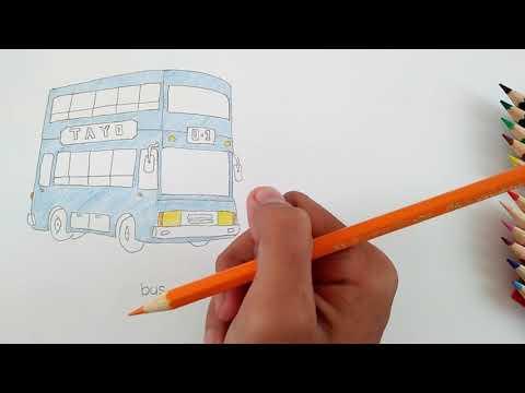 64 Gambar Tayo Menggunakan Pensil Paling Keren