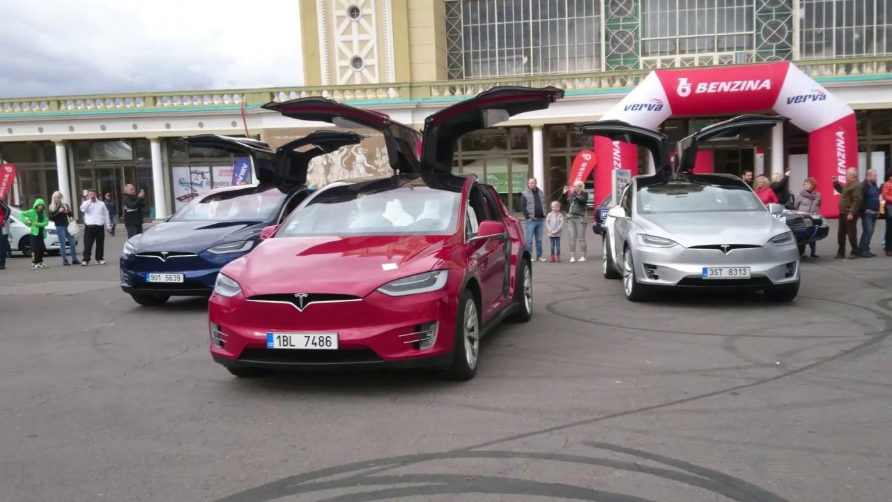Tesla Model X Dance 4k Video Youtube