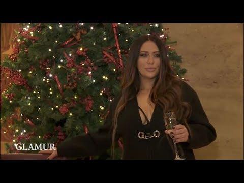 Ana Nikolic - O povratku na scenu i novogodisnjem nastupu - Glamur - (TV Happy 16.12.2017.)