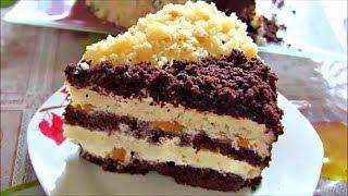 Торт Сметанник ☆ Очень нежный и пропитанный торт на сметане